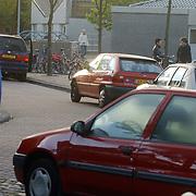 Verkeersoverlast school de Lichtboei luitstraat 7 Almere, verkeersveiligheid, auto, overlast,