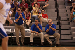 25 June 2011: Rodney Kellar, Andy Jones & Charlie Hall at the 2011 IBCA (Illinois Basketball Coaches Association) boys all star games.