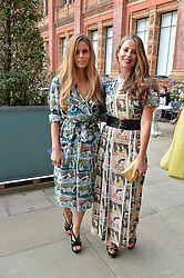 Irene Forte and Lydia Forte at the V&A Summer Party 2017 held at the Victoria & Albert Museum, London England. 21 June 2017.<br /> Photo by Dominic O'Neill/SilverHub 0203 174 1069 sales@silverhubmedia.com