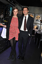 BEN & KATE GOLDSMITH at the Wild for WSPA dinner in aid of the charity World Society for the Protection of Animals held at Under The Bridge, Stamford Bridge, Fulham Road, London on 23rd February 2012.