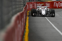 March 24, 2018 - Melbourne, Victoria, Australia - LECLERC Charles (mco), Alfa Romeo Sauber F1 Team C37, action during 2018 Formula 1 championship at Melbourne, Australian Grand Prix, from March 22 To 25 - s: FIA Formula One World Championship 2018, Melbourne, Victoria : Motorsports: Formula 1 2018 Rolex  Australian Grand Prix, (Credit Image: © Hoch Zwei via ZUMA Wire)