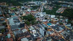Foto aérea da Cidade de Gravataí. Foto: Jefferson Bernardes/ Agência Preview