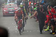 Gianluca Brambilla (ITA, Trek Segafredo) during the 73th Edition of the 2018 Tour of Spain, Vuelta Espana 2018, Stage 15 cycling race, 15th stage Ribera de Arriba - Lagos de Covadonga 178,2 km on September 9, 2018 in Spain - Photo Luca Bettini/ BettiniPhoto / ProSportsImages / DPPI