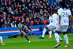 February 17, 2018 - Paris, France - Paris SG Midfield DI MARIA ANGEL in action during the League 1 French championship match Paris SG against Strasbourg RC at the Parc des Princes Stadium in Paris - France..Paris SG won 5-2 (Credit Image: © Pierre Stevenin via ZUMA Wire)
