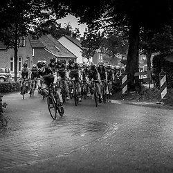 VELDHOVEN (NED) July 4 <br /> CYCLING <br /> The first race of the Schwalbe Topcompetition the Simac Omloop der Kempen<br /> Sfeer peloton