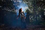 Gothic Theme Shooting with  Model Cheryl Echevarria in Trujillo Alto, Puerto Rico (2010)