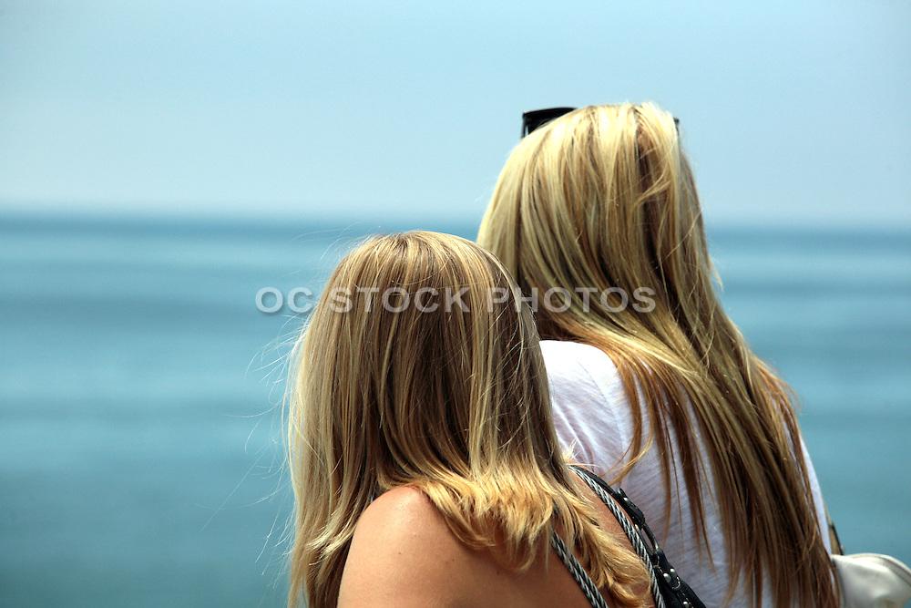 Surfing Spectators at the Huntington Beach Pier