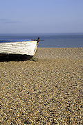 The shingle beach at Aldeburgh, Suffolk