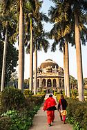 Tomb of Muhammad Shah, Lodi Gardens (Lodhi Gardens), New Delhi, India