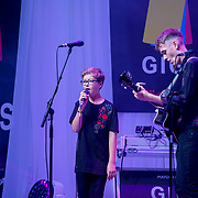 London, UK. 3rd September 2017. Purple Day Band of two preforms at the Mayor Of London Gigs at Westfield London.