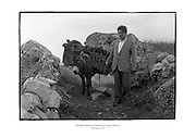 Brendan Behan in Connemara, County Galway. B73-8584 <br />
