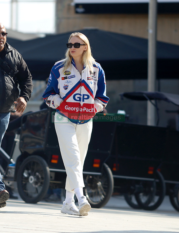 EXCLUSIVE: Joe Jonas and his wife Sophie Turner hold hands while they enjoy a sunny afternoon in Barcelona amid claims that they 'expect their first child this summer'. February 17, 2020 in Barcelona, Spain. 17 Feb 2020 Pictured: Sophie Turner. Photo credit: Elkin Cabarcas / MEGA TheMegaAgency.com +1 888 505 6342