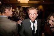 ELLE MACPHERSON; SIMON PEGG,  Esquire Man at the Top Awards 2008. Haymarket Hotel. London. 3 November 2008 *** Local Caption *** -DO NOT ARCHIVE -Copyright Photograph by Dafydd Jones. 248 Clapham Rd. London SW9 0PZ. Tel 0207 820 0771. www.dafjones.com