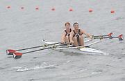 Eton. Great Britain. USA JM2X. Competing at the Eton Rowing Centre 2011 FISA Junior  World Rowing Championships. Dorney Lake, Nr Windsor. Thursday, 04/08/2011  [Mandatory credit: Peter Spurrier Intersport Images]