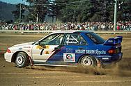 Matt Speakman & Gareth Monaghan - Mitsubishi Lancer Evo III - Saxon Safari Tasmania - ARC- 11th-12th September 1999