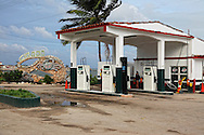 Gas station in Gibara, Holguin, Cuba.