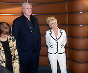 SIR MICHAEL CAINE; BARBARA WINDSOR, The Galleries of Modern London launch party at the Museum of London on May 27, 2010 in London. <br /> -DO NOT ARCHIVE-© Copyright Photograph by Dafydd Jones. 248 Clapham Rd. London SW9 0PZ. Tel 0207 820 0771. www.dafjones.com.