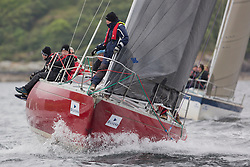 Day one of the Silvers Marine Scottish Series 2016, the largest sailing event in Scotland organised by the  Clyde Cruising Club<br /> Racing on Loch Fyne from 27th-30th May 2016<br /> <br /> K4203, Stargazer, G. MacLeod/A. Bisland, CCC / Arran YC , Grand Soleil 34<br /> <br /> <br /> Credit : Marc Turner / CCC<br /> For further information contact<br /> Iain Hurrel<br /> Mobile : 07766 116451<br /> Email : info@marine.blast.com<br /> <br /> For a full list of Silvers Marine Scottish Series sponsors visit http://www.clyde.org/scottish-series/sponsors/