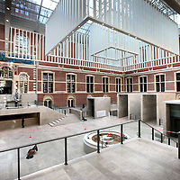 Nederland, Amsterdam , 29 mars 2013..l' Architecture de l'Atrium du Rijksmuseum..Foto:Jean-Pierre Jans