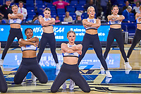 Middle Tennessee Blue Raiders dance team perform during halftime of the UAB Blazers at Middle Tennessee Blue Raiders college basketball game in Murfreesboro, Tennessee, Thursday, February, 20, 2020.<br /> Photo: Harrison McClary/All Tenn Sports