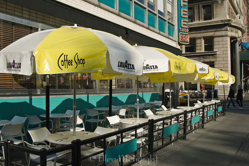 Outdoor Coffee Shop at Union Square in Manhattan