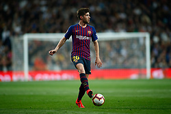 March 2, 2019 - Madrid, MADRID, SPAIN - Sergi Roberto of FC Barcelona during the spanish league, La Liga, football match played between Real Madrid and FC Barcelona at Santiago Bernabeu Stadium in Madrid, Spain, on March 02, 2019. (Credit Image: © AFP7 via ZUMA Wire)