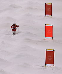 Finland's Jussi Penttala in the Freestyle Skiing Ladies' Moguls Entries by event Practice during a preview day at the Phoenix Snow Park, ahead of the PyeongChang 2018 Winter Olympic Games in South Korea.
