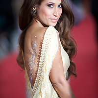 Actress Preeya Kalidas arrives for the premiere of 'The Expendables,' on Monday night, August 9, 2010, at the Odeon, Leicester Square in London.