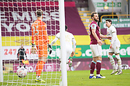 Milton Keynes Dons forward Cameron Jerome (35) celebrates his goal during the FA Cup match between Burnley and Milton Keynes Dons at Turf Moor, Burnley, England on 9 January 2021.