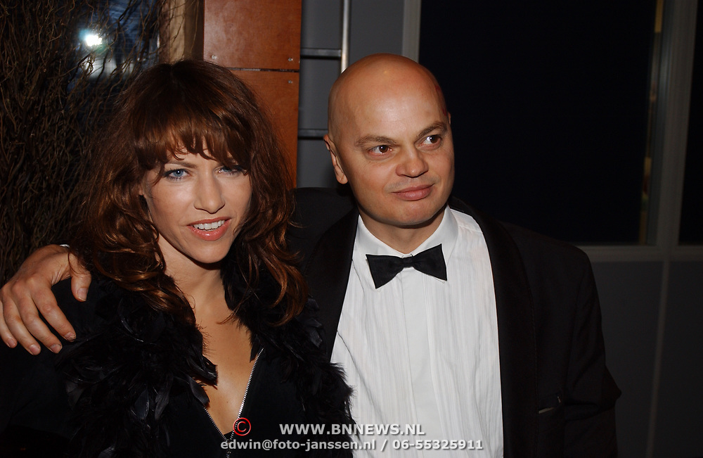Playboy Night 2004, Ellen Ten Damme en Peter Klashorst