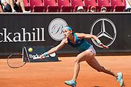 Aleksandra Krunic during the 2019 Swedish Open in Båstad on July 11, 2019. Photo Credit: Katja Boll/EVENTMEDIA.