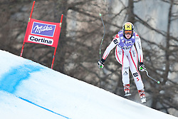 20.01.2011, Tofana, Cortina d Ampezzo, ITA, FIS World Cup Ski Alpin, Lady, Cortina, Abfahrt 2. Training, im Bild Nicole Hosp (AUT, #58) // Nicole Hosp (AUT) during FIS Ski Worldcup ladies downhill second training at pista Tofana in Cortina d Ampezzo, Italy on 20/1/2011. EXPA Pictures © 2011, PhotoCredit: EXPA/ J. Groder