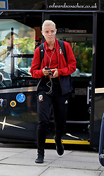 NEWPORT, WALES - Tuesday, June 12, 2018: Wales' captain Sophie Ingle arrives before the FIFA Women's World Cup 2019 Qualifying Round Group 1 match between Wales and Russia at Newport Stadium. (Pic by David Rawcliffe/Propaganda)