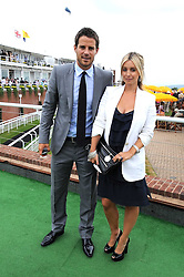 JAMIE & LOUISE REDNAPP at the 3rd day of the 2008 Glorious Goodwood racing festival at Goodwood Racecourse, West Sussex on 31st July 2008.<br /> <br /> NON EXCLUSIVE - WORLD RIGHTS