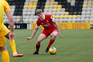 Aberdeen's Jack Mackenzie (29) dribbles the ball during the Scottish Premiership match between Livingston and Aberdeen at Tony Macaroni Arena, Livingstone, Scotland on 1 May 2021.