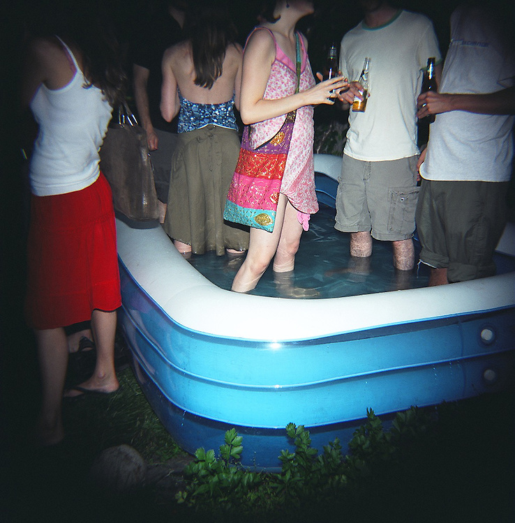 Pool party, Crown Heights, Brooklyn, 2007