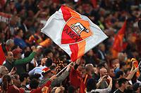 Tifosi Roma, fans, supporters <br /> Roma 02-05-2018 Stadio Olimpico<br /> Football Calcio UEFA Champions League 2017/2018<br /> AS Roma - Liverpool <br /> Semifinali di ritorno, Semi finals 2nd leg<br /> Foto Cesare Purini / Insidefoto