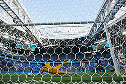 SAINT PETERSBURG, RUSSIA - JUNE 14: Karol Linetty of Poland scores their side's first goal past Martin Dubravka of Slovakia during the UEFA Euro 2020 Championship Group E match between Poland and Slovakia at the Saint Petersburg Stadium on June 14, 2021 in Saint Petersburg, Russia. (Photo by Gonzalo Arroyo - UEFA)