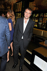 BEN GOLDSMITH at the Johnnie Walker Gold Label Reserve Launch Party at Whisky Mist, 35 Hertford Street, London on 18th July 2012.
