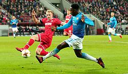 Danny Welbeck of Arsenal crosses the ball - Mandatory by-line: Robbie Stephenson/JMP - 23/11/2017 - FOOTBALL - RheinEnergieSTADION - Cologne,  - Cologne v Arsenal - UEFA Europa League Group H