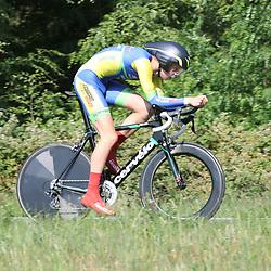 21-06-2017: Wielrennen: NK Tijdrijden: Montferlands-Heerenberg (NED) wielrennen  <br />Bodi Del Grosso pakt zilver bij de nieuwelingen