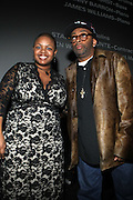 l to r: Moikgansti Kgama and Spike Lee at The ImageNation celebration for the 20th Anniversary of ' Do the Right Thing' held Lincoln Center Walter Reade Theater on February 26, 2009 in New York City. ..Founded in 1997 by Moikgantsi Kgama, who shares executive duties with her husband, Event Producer Gregory Gates, ImageNation distinguishes itself by screening works that highlight and empower people from the African Diaspora.