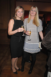 Left to right, ALISON POOLE and LADY MARIA BALFOUR at the Lighthouse Gala Auction in aid of the Terence Higgins Trust held at Christie's, St.James's, London on 12th March 2007.<br />