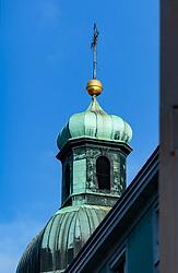 THEMENBILD - ein Teil der Hofburg in Innsbruck ist eine Burganlage aus dem Spätmittelalter in der Altstadt, aufgenommen am 02. Dezember 2017, Innsbruck, Österreich // a part of the Hofburg in Innsbruck is a castle from the late Middle Ages in the old town on 2017/12/02, Innsbruck, Austria. EXPA Pictures © 2017, PhotoCredit: EXPA/ Stefanie Oberhauser