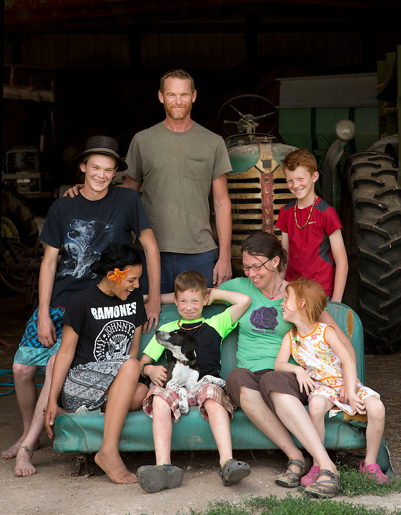 The Nolan family of Laurel Valley Creamery near Galipolis. (Will Shilling/CRAVE)