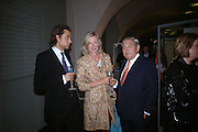 Moritz Pohl, Mr. and  Mrs. Karl-Otto Pohl. The opening of ' Princely Spendour: The Dresden Court 1580-1620' The Gilbert Collection, Somerset House. London. 8 June 2005. ONE TIME USE ONLY - DO NOT ARCHIVE  © Copyright Photograph by Dafydd Jones 66 Stockwell Park Rd. London SW9 0DA Tel 020 7733 0108 www.dafjones.com