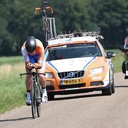 EMMEN (NED wielrennen <br /> Tijdrit Topcompetitie Emmen    <br /> Timon Ratering