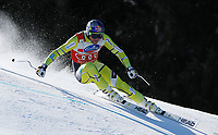 ALPINE SKIING - WORLD CUP 2011/2012 - SCHLADMING (AUT) - FINAL -  15/03/2012 - PHOTO : SHIN TANAKA / PENTAPHOTO / DPPI - MEN SUPER G - Aksel lund Svindal (NOR) / CRISTAL GLOBE
