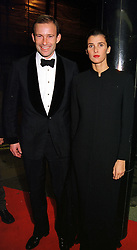 PRINCE & PRINCESS KYRIL OF BULGARIA, at a party in London on 24th November 1999.MZH 92