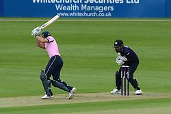Geraint Jones of Gloucestershire drops the ball - Photo mandatory by-line: Dougie Allward/JMP - Mobile: 07966 386802 - 15/05/2015 - SPORT - Cricket - Bristol - Bristol County Ground - Gloucestershire County Cricket v Middlesex County Cricket - NatWest T20 Blast